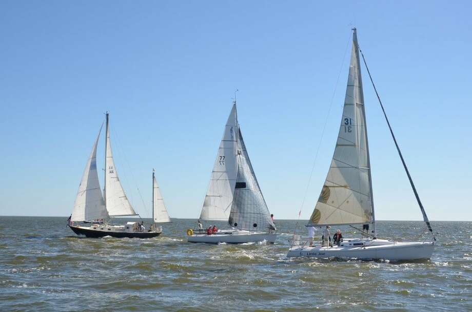 Nearly 45 boats launched from Trinity Bay, with seven classes running multiple races through Saturday. Lakewood Yacht Club hosted the event, which featured long-distance, multi-leg racing.