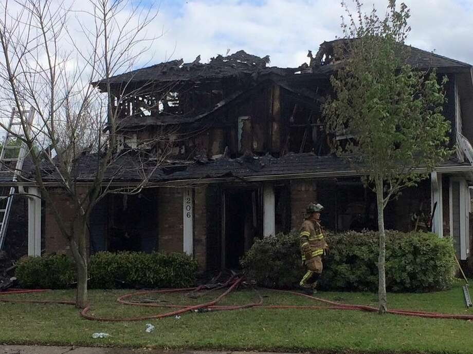 Deer Park officials are investigating a fire that destroyed a home last week. On March 22 Deer Park fire fighters were dispatched to the 1206 block of Briarwood in response to a house fire that had broken out while the occupants were gone.