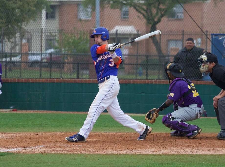 Senior first baseman Justin Monsour had a pair of RBIs for the Huskies (12-13).