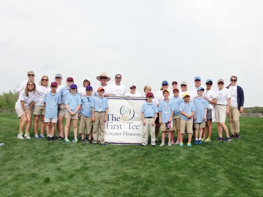 CFISD students and educators gather for the First Tee National School Program Champions Challenge on March 26 in Humble.