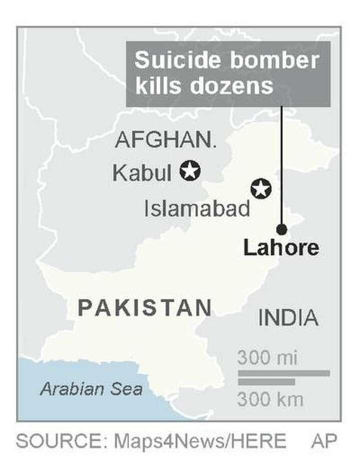 Pakistani Taliban faction claims Easter park bombing