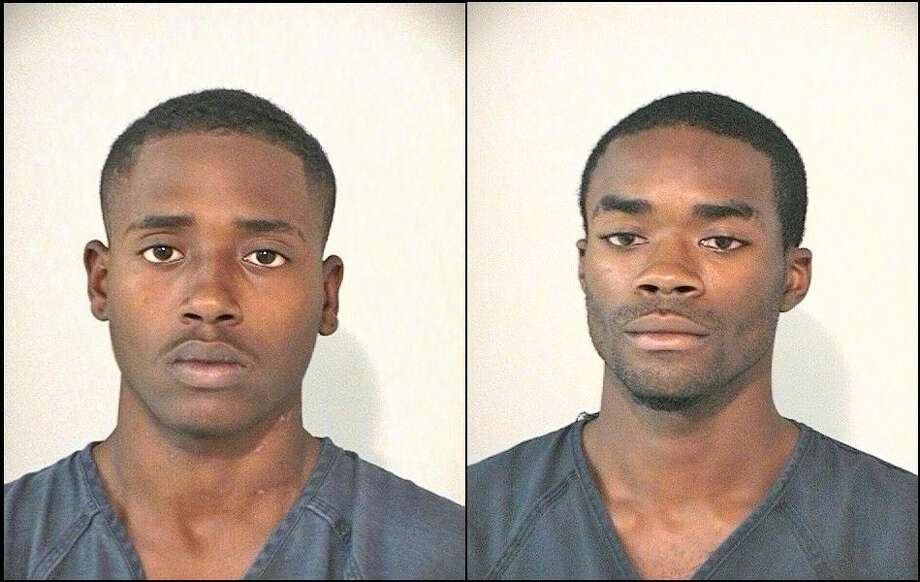 Houston-residents Travis Terelle Johnson, 19, and Keith Darrell Hayden, 24, were arrested by Houston Police officers Tuesday (July 14) in connection with a recent string of armed robberies in west Pearland. Photo: Fort Bend Couty Jail