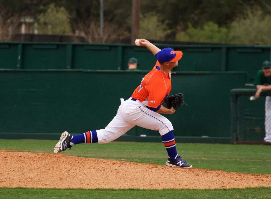 Behind a gutsy start by junior lefthander Christian Thames and some late-inning heroics, HBU came from behind to down Central Arkansas, 3-2 in 10 innings, in the Southland Conference baseball series finale Saturday afternoon at Bear Stadium.
