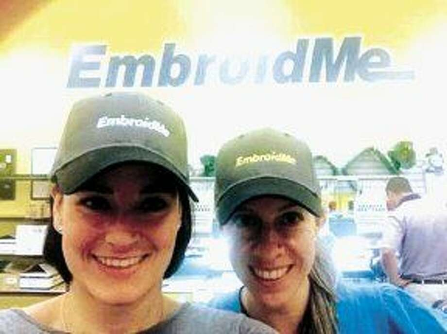 Claudia Moreno and Diana Valdes, owners of EmbroidMe of Humble.