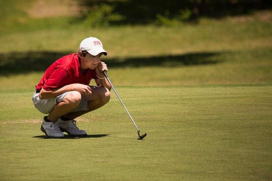 St. Thomas High School golfer Ryan Baker