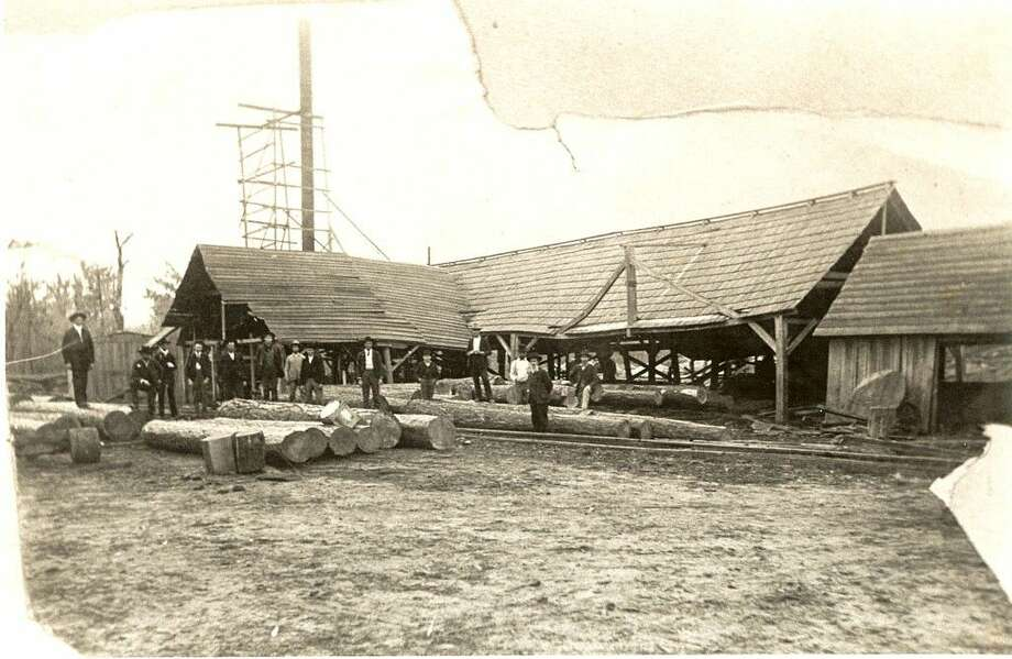 Shown here is an image of the Blair Mill, included in the W. F. Blair Collection at the Sam Houston Regional Library (Thanks to Blair Leatherwood of Sacramento, Cal. for directing us to it).