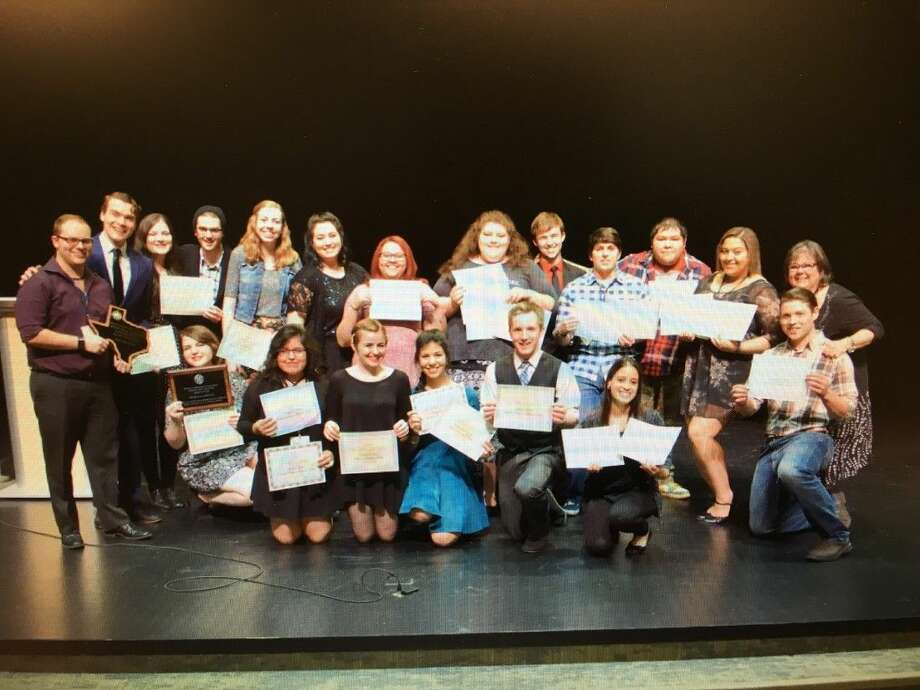 The Lone Star College-Tomball Drama department once again delivered during state competition, coming home with top honors from this year's Texas Community College Speech and Theatre Association TCCSTA State Play Festival. Photo: Submitted