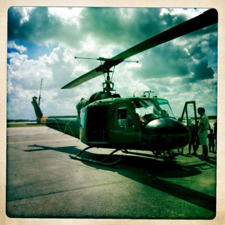 A Vietnam era helicopter. Photo: Marla Cloud Molony