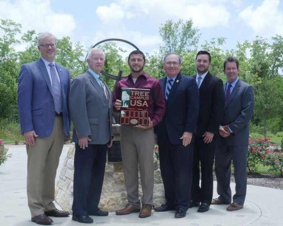 Tree Campus USA is a national program created in 2008 by the Arbor Day Foundation and sponsored by Toyota to honor colleges and universities for effective campus forest management and for engaging staff and students in conservation goals. Photo: File Photo