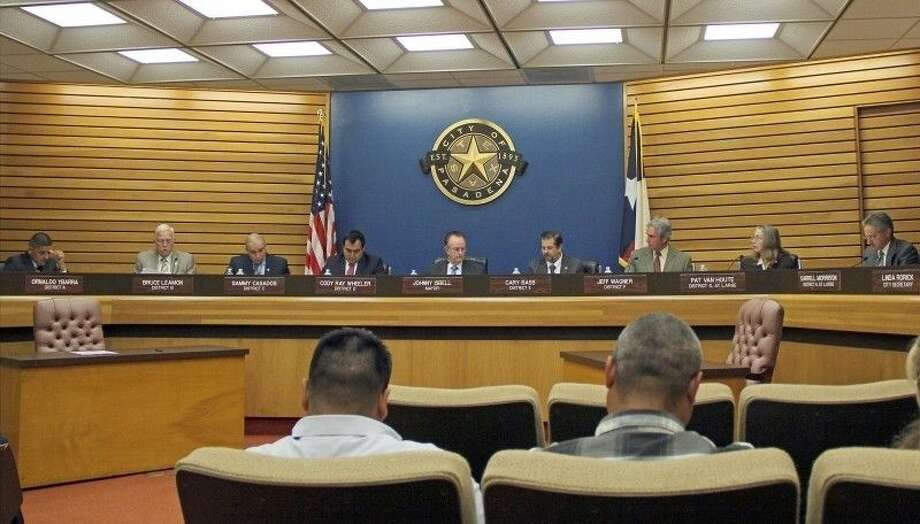 The Pasadena City Council will meet at 5:30 Tuesday (July 21) in the main conference room on the first floor of city hall for a pre-council meeting to discuss agenda items. The pre-council meeting is open to the public. The regular meeting is scheduled to begin at 6 p.m. in the council chambers. Citizens are allowed to speak before the council during the meeting for up to three minutes. The meeting us free and open to the public. Pasadena City Hall is located at 1211 Southmore. For more information, visit www.ci.pasadena.tx.us Photo: Kristi Nix