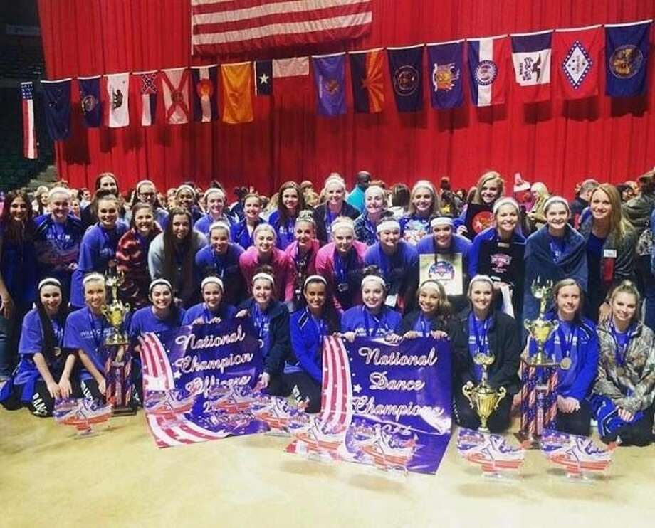 The Friendswood Wranglerettes recently captured their 18th national title since 1995 at a competition in Denton. Photo: Submitted Photo