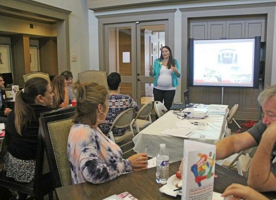 Cristina Womack, President and CEO of the Pasadena Chamber of Commerce, recently served as guest speaker at the Houston Apartment Association Pasadena Luncheon. Photo: Kristi Nix