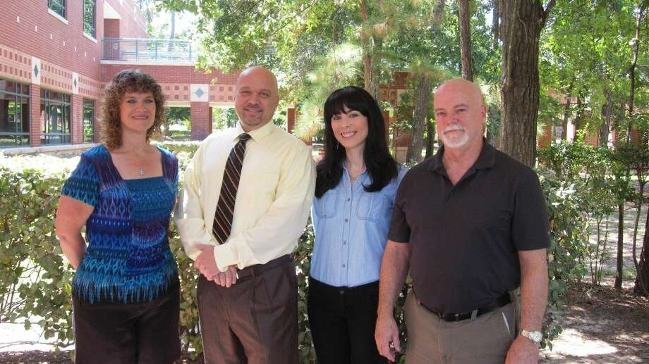 Laura Crockett, Brittany McVey, and John Woodward, recent graduates of Lone Star College-Montgomery, are all recipients of the Sam Houston State University's Smith-Huston Scholarship