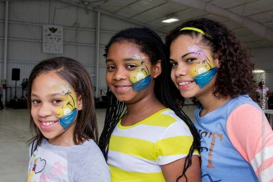 HobbyFest returns April 16 with face painting, moon walks and more. Photo courtesy Hobby Fest. Photo: Walter Jimenez