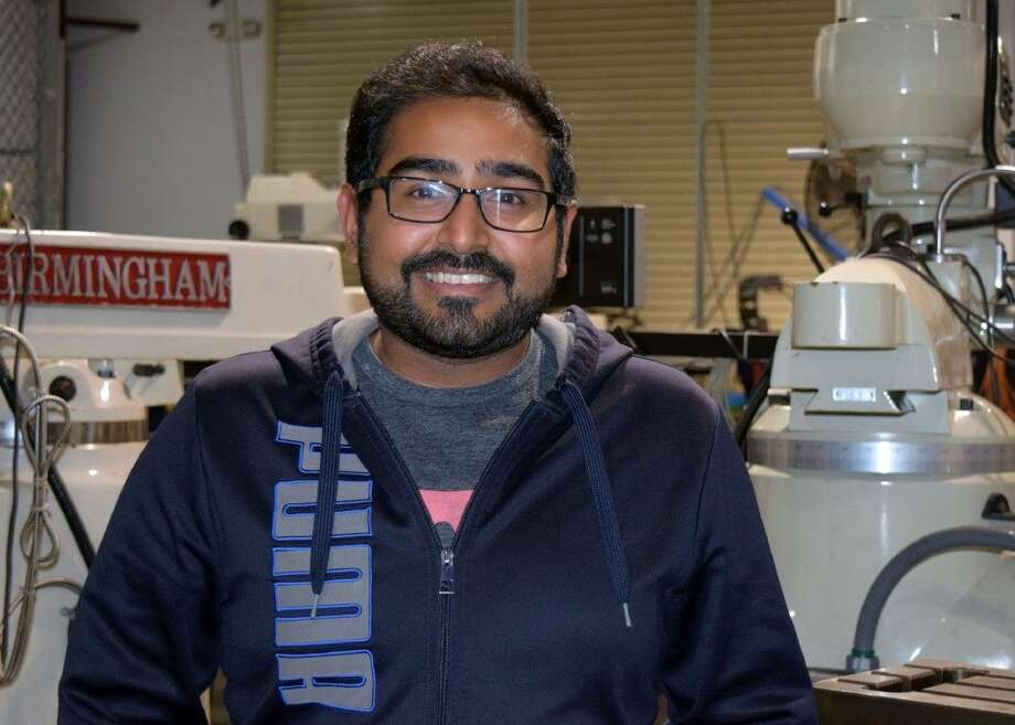 "Houston native Salman ""Sal"" Maredia is a student at Texas State Technical College in Fort Bend County studying Precision Machining Technology. He will be graduating Fall 2016 with his associate degree."
