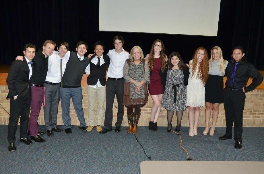 Jersey Village High School students participate in the JVTV Showcase last May. Jersey Village was the only CFISD school to be named a Reward School in both the high-performing and high-progress areas.