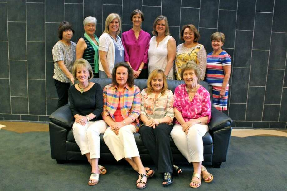 Pictured from left to right in front are Kathy Creel, Gail Foster, Cheryl Foust and Chris Rigamonti; and in the second row from right are Jill Dewbre, Kathryn Farries, Betsy Meyer, Barb Prasad, Gina Ebers, Diane Brown and Dolly Boyd Roberts. Not pictured is Carol Brushwood. Photo: Submitted Photo