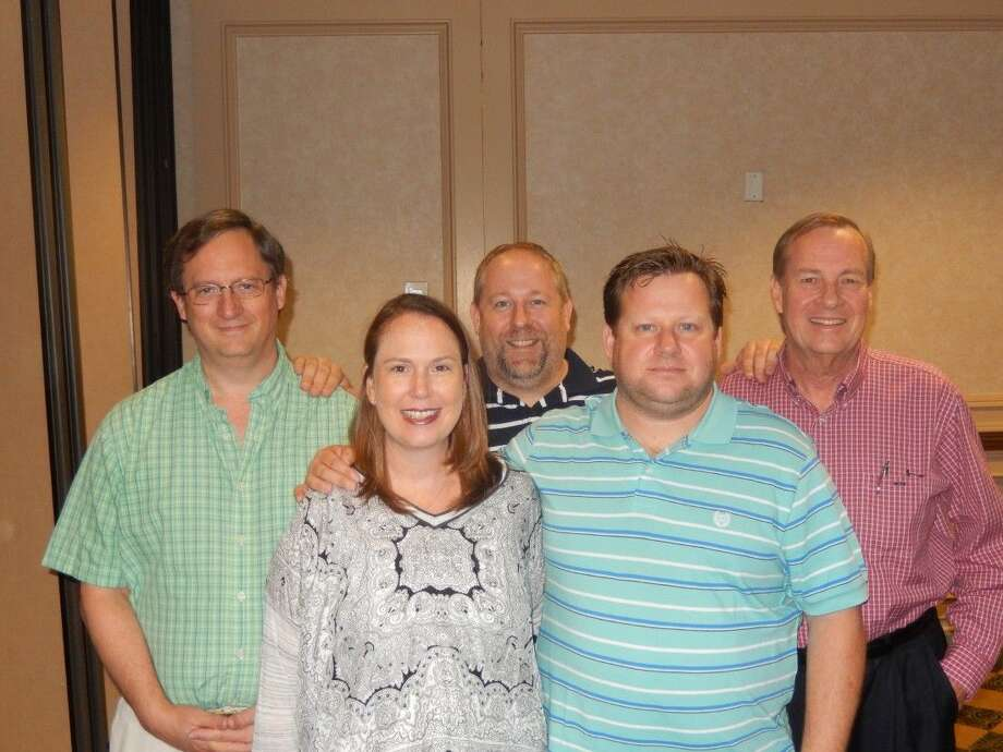 Members of the championship team (pictured left to right) included Daniel Jackson, Jennifer Breihan, Mike Doyle, James Breihan and Bill McCarty.