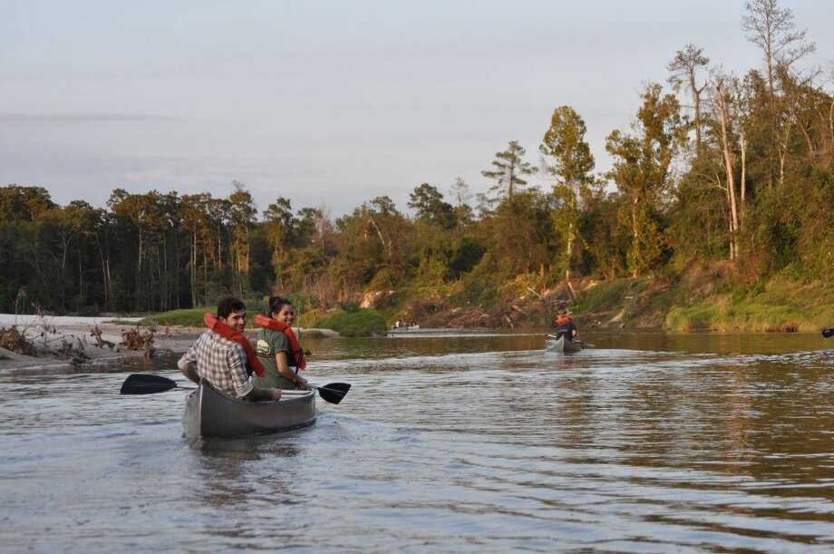 Canoers enjoy a paddle on Spring Creek Photo: Jennifer Lorenz