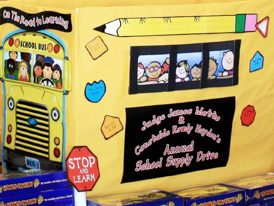 As always, donations benefit elementary school students in East Montgomery County whose families are struggling to provide the basic supplies required by schools, from pencils and paper to backpacks.