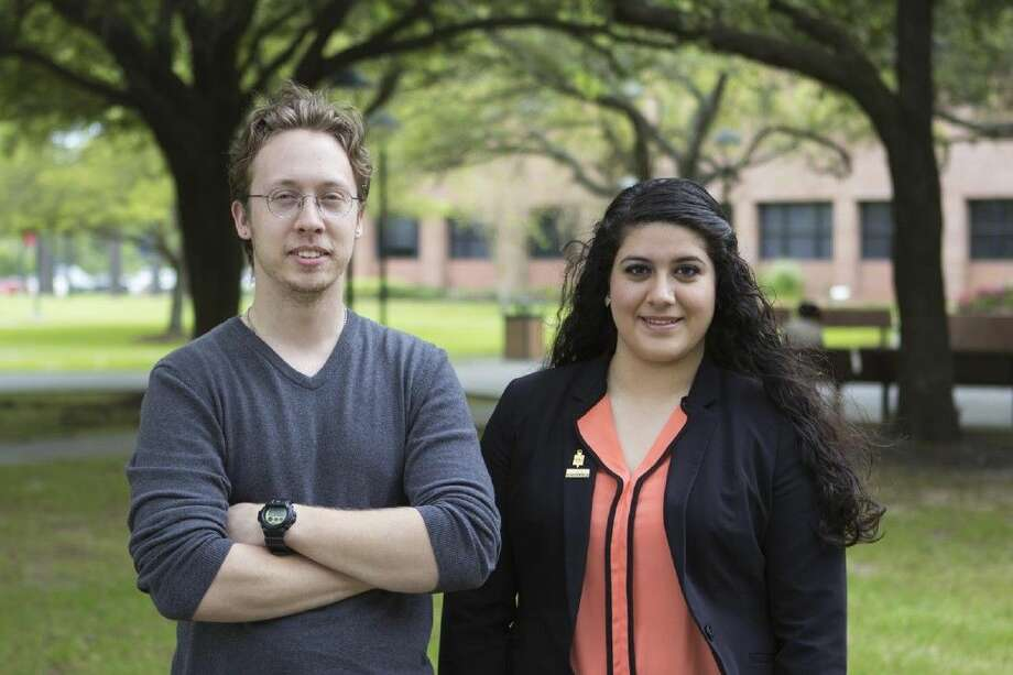 Lone Star College-Tomball students Alex Dodd and Tiffany Avalos-Lopez have been named 2016 Coca-Cola Community College Academic Team Gold Scholars. Photo: Submitted