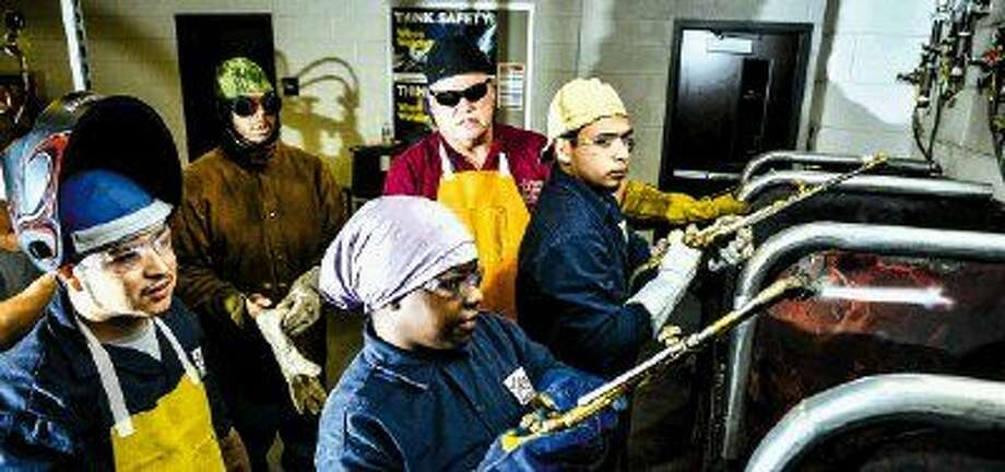 Lone Star College will begin to offer free workforce training in welding and ironworking for people facing financial hardships.