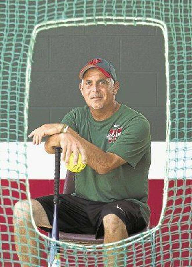 Richard Jorgensen became head softball coach at The Woodlands in 2005. The Lady Highlanders have reached the state playoffs every year since, and qualified for the state tournament in two of the last three seasons. Photo: Jason Fochtman