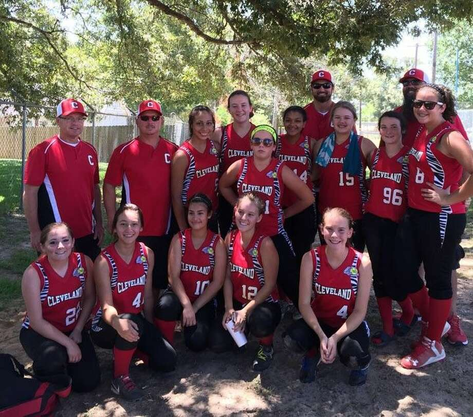 The Cleveland Belles won their state championship tournament in Lindale, Texas on Tuesday, July 21, and are soon bound for the world series.Submitted image Photo: Submitted Image