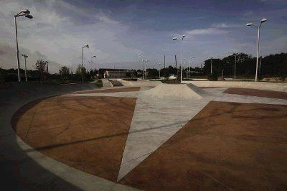 Spring Skatepark, the largest free skatepark in North America, opened on Thursday, Aug. 14, 2014. Photo: Michael Minasi