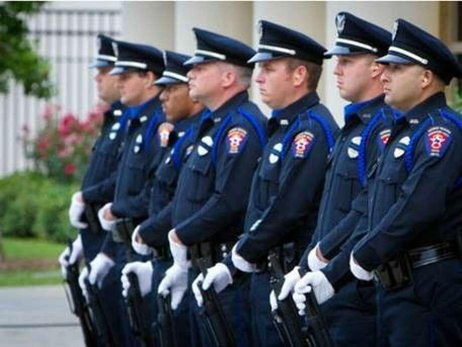 Officers of the Missouri City Police Department. Photo: Photo Courtesy Missouri City
