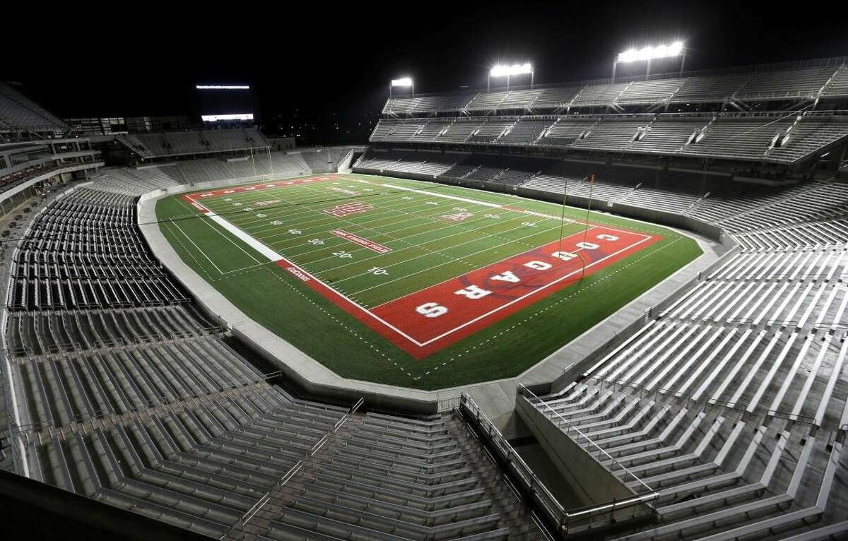 The Houston Cougars will open TDECU Stadium next week when they play Texas-San Antonio.