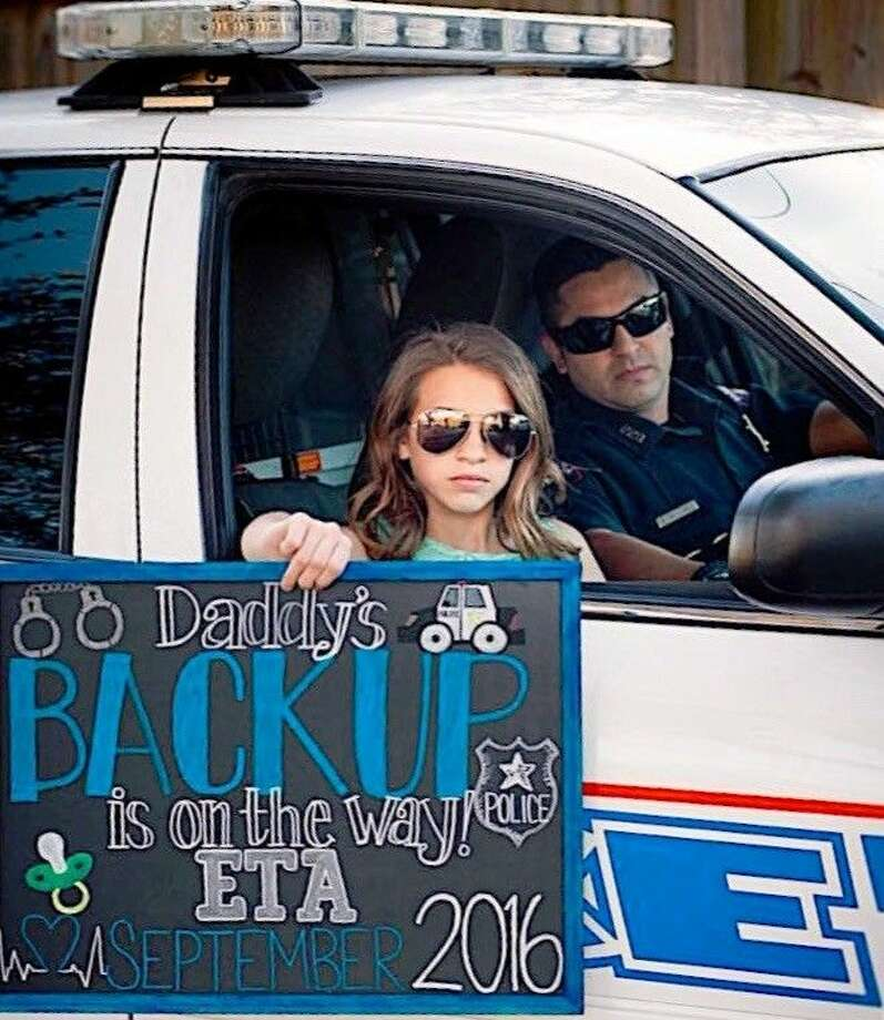 Cop Photo Goes Viral: Pasadena Officer's Baby Announcement Goes Viral On Social