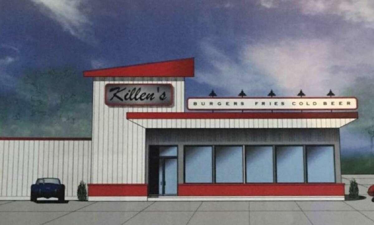 Artist rendering of Killen's Burger, courtesy of Ronnie Killen.