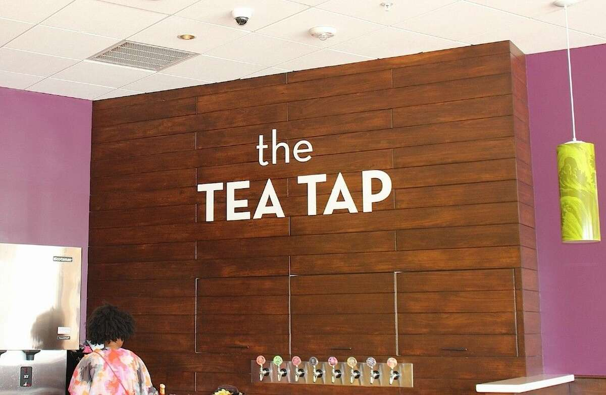 The Tea Tap at Salata is a focal point.