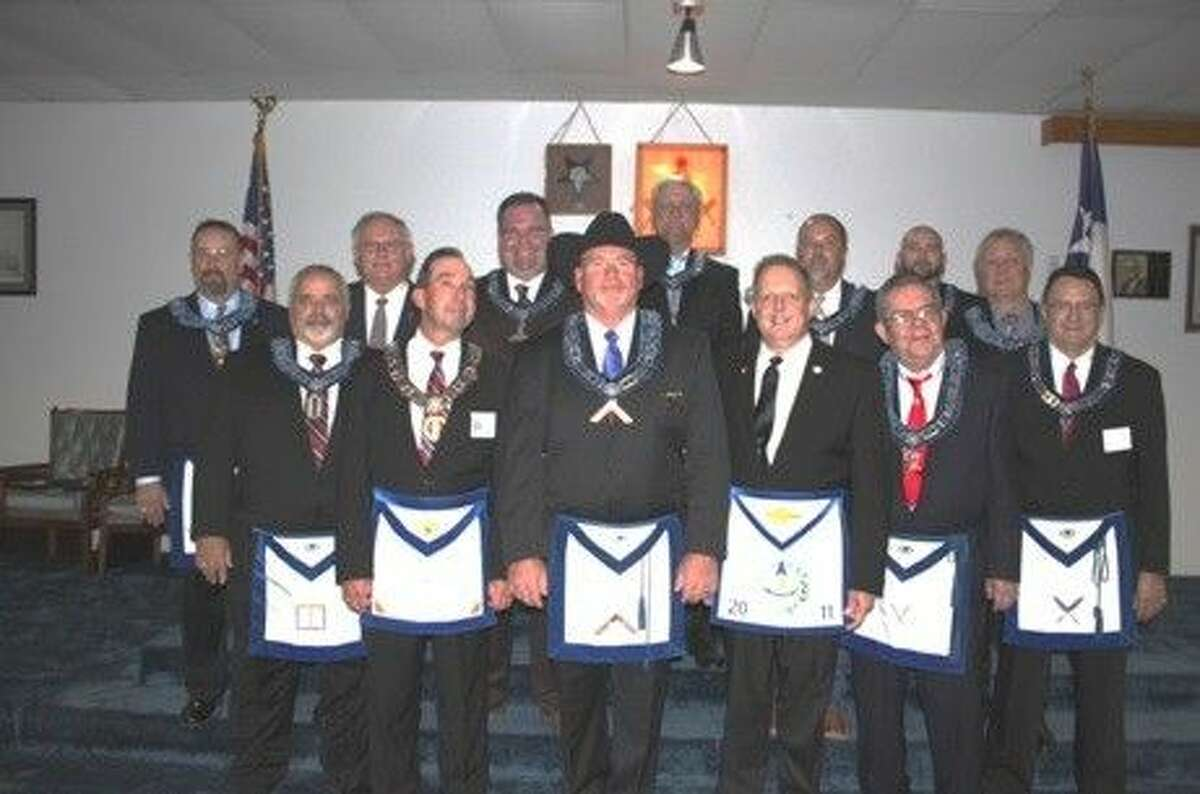 Back row, from left: Brian Ketterer, Bob Royall, Curtis Garmon, Larry Baker, Carl Faetche, Kerry Williams, and Scott Carleton. Front row, from left: Ray Burt, Tommy Chapman, Mark Lee, Ralph Royall, Roger Cassman and Eddie Reed.