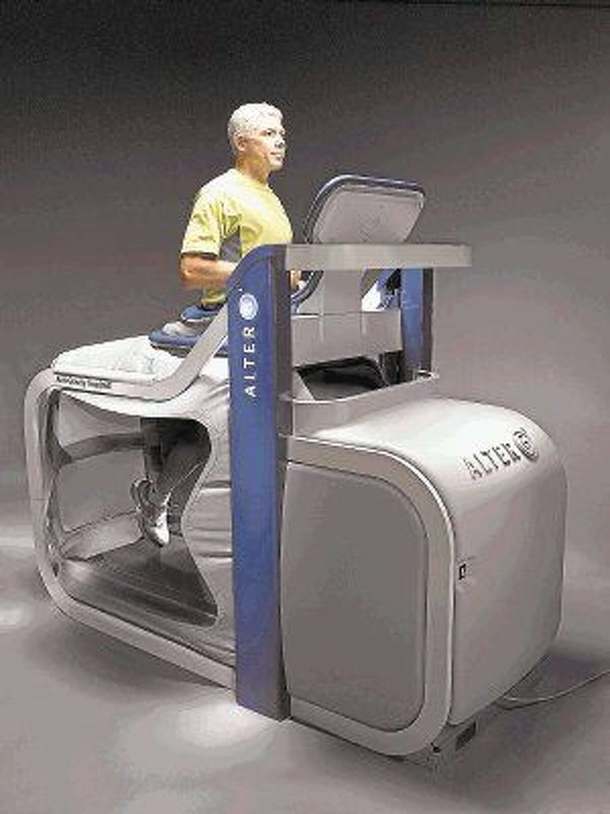 The AlterG Anti-Gravity Treadmill at Performance Medicine, located on the campus of CHI St. Luke's Health-The Woodlands Hospital in the Medical Arts Center Building III (MAC III) at 17450 St. Luke's Way, Suite 350.