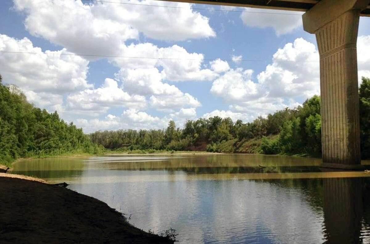 The Brazos River turnaround at U.S. 59, where the city of Sugar Land has opened its first public canoe launch.