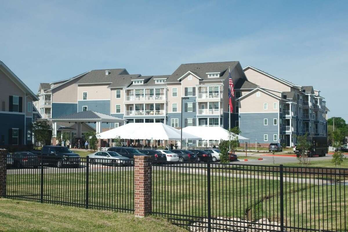 The Crossings community for active older adults was officially dedicated during a ceremony Thursday, April 7.