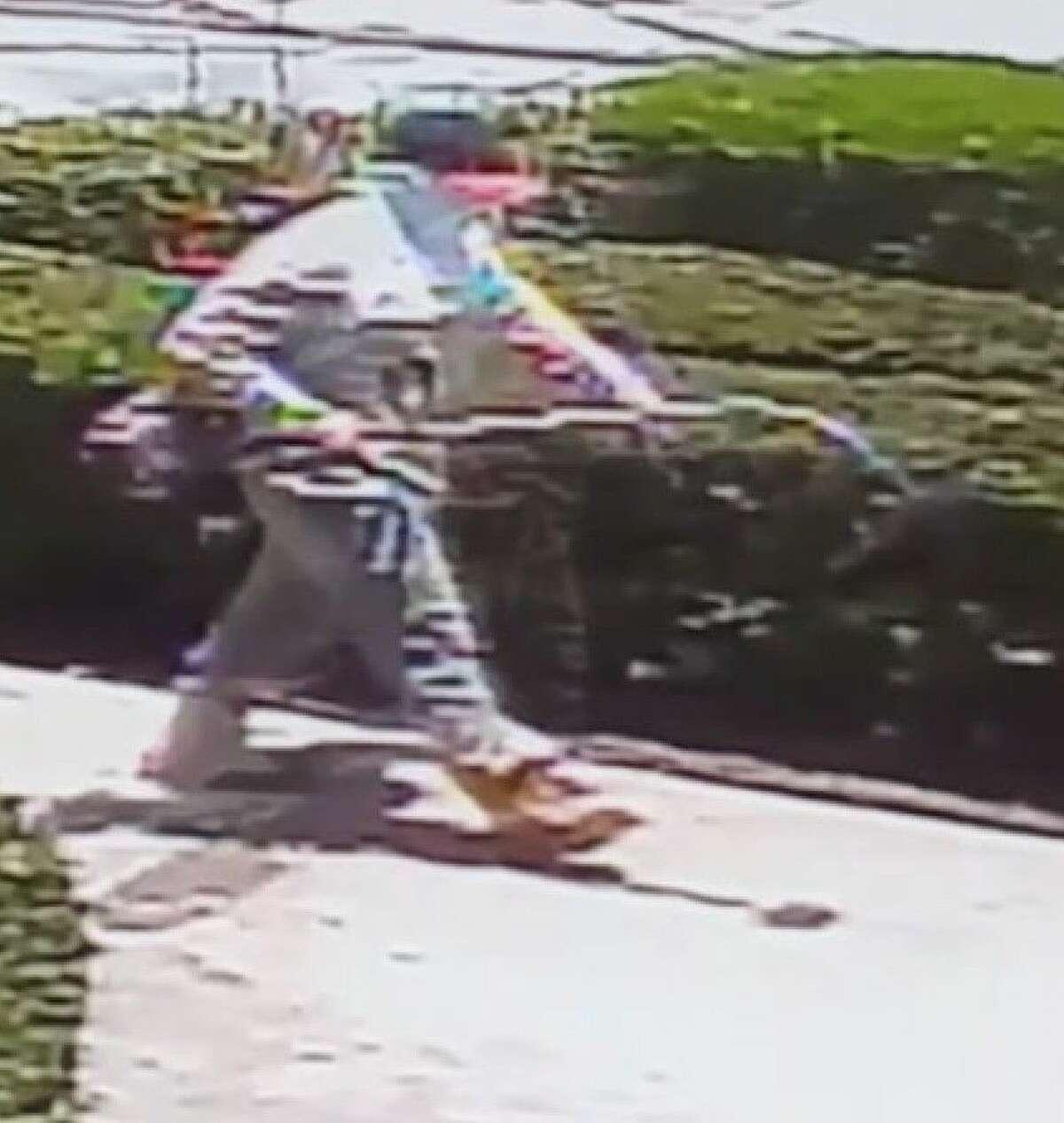 Surveillance photo of the Sonic suspect.