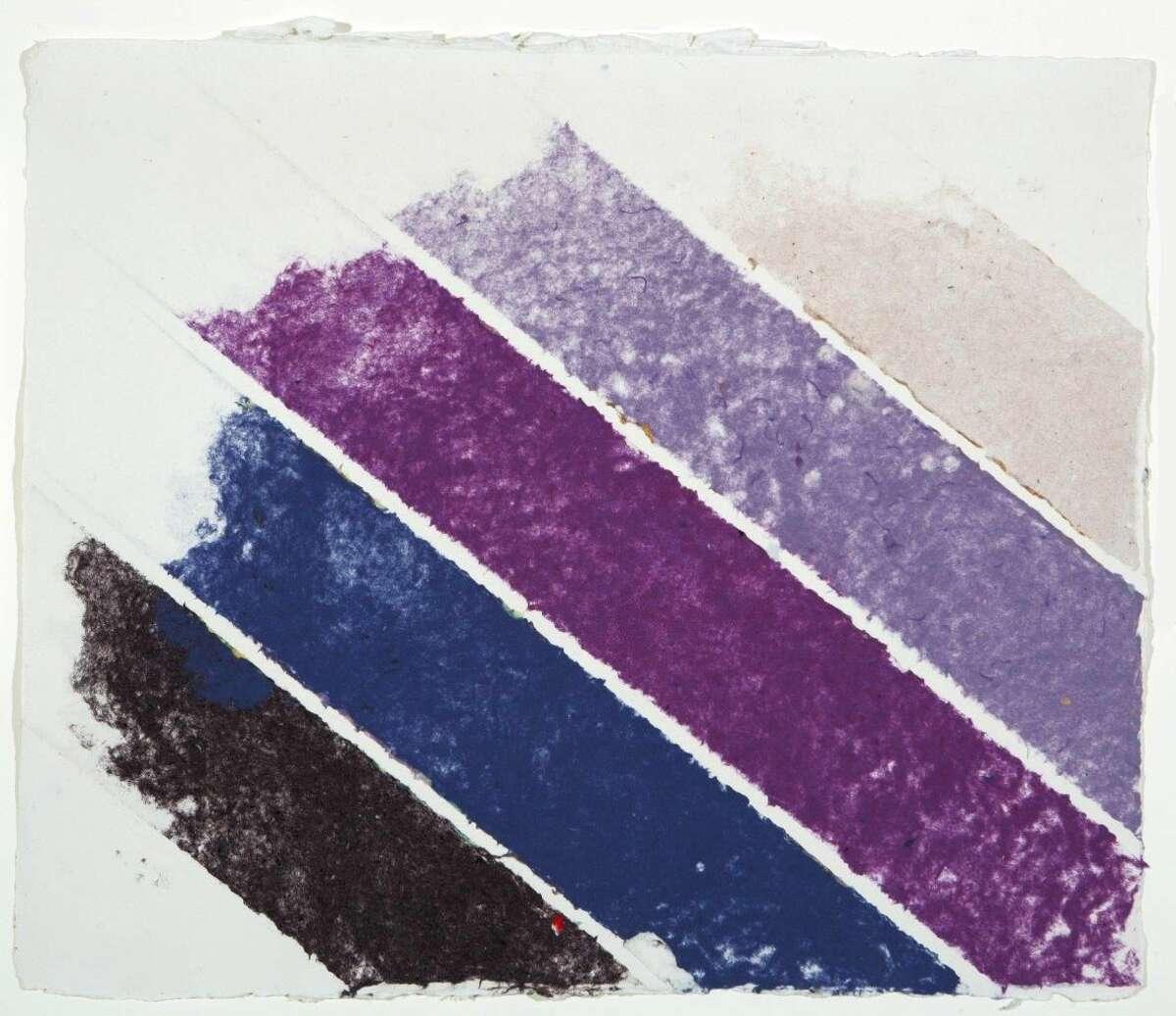 Kenneth NolandUntitled, 1981Handmade Paper26 1/2 x 30 1/2 inches