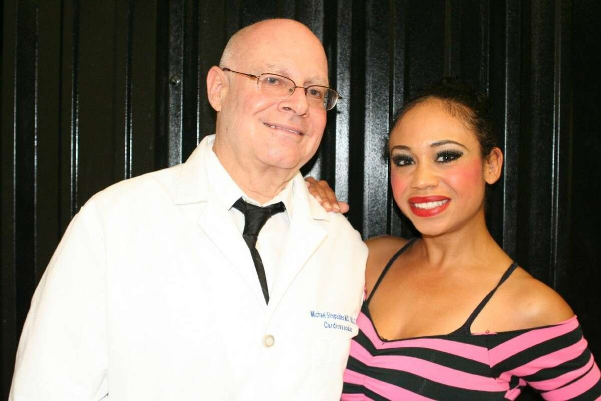 Dr. Michael Siropaides, Cardiologist with Cardiovascular Association, P.L.L.C., and Rowland Ballard Dance Instructor, Simone Brooks.