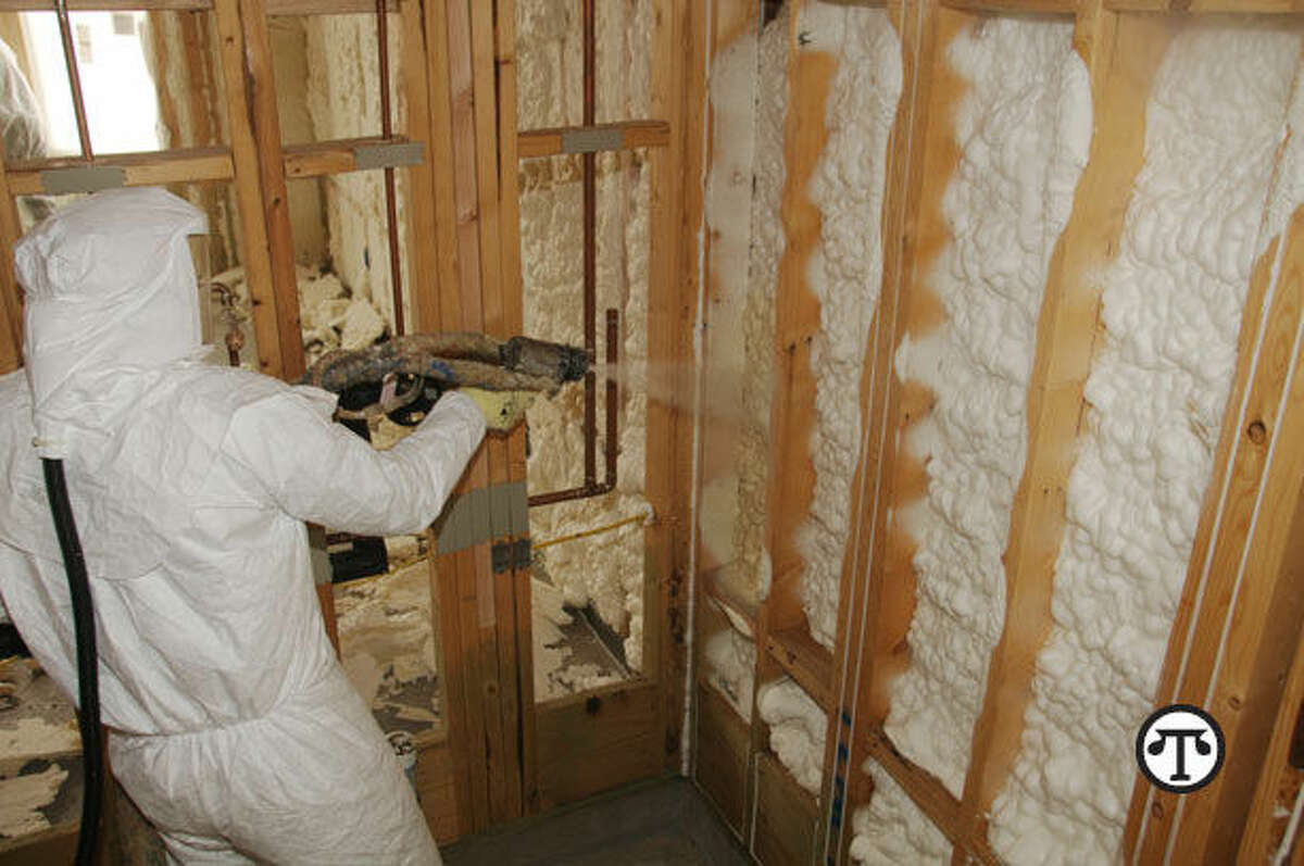 Foam insulation in your walls can mean more money in your wallet as heating and cooling costs come down. (NAPS)
