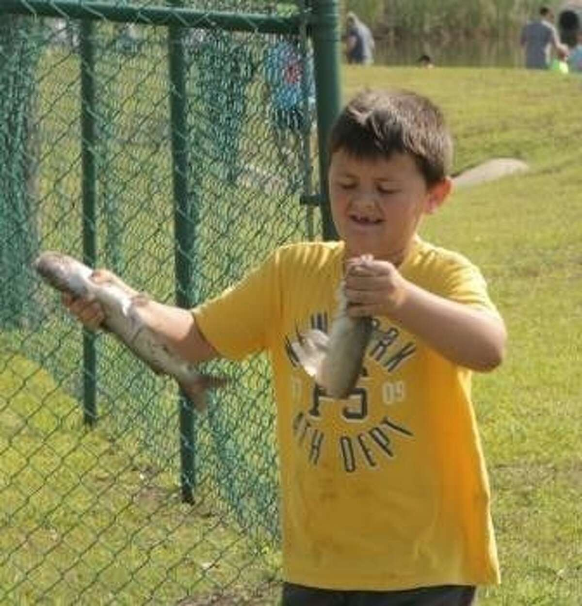 This year's Friendswood Youth Fishing Derby is Saturday, May 2 at the Centennial Park Pond.