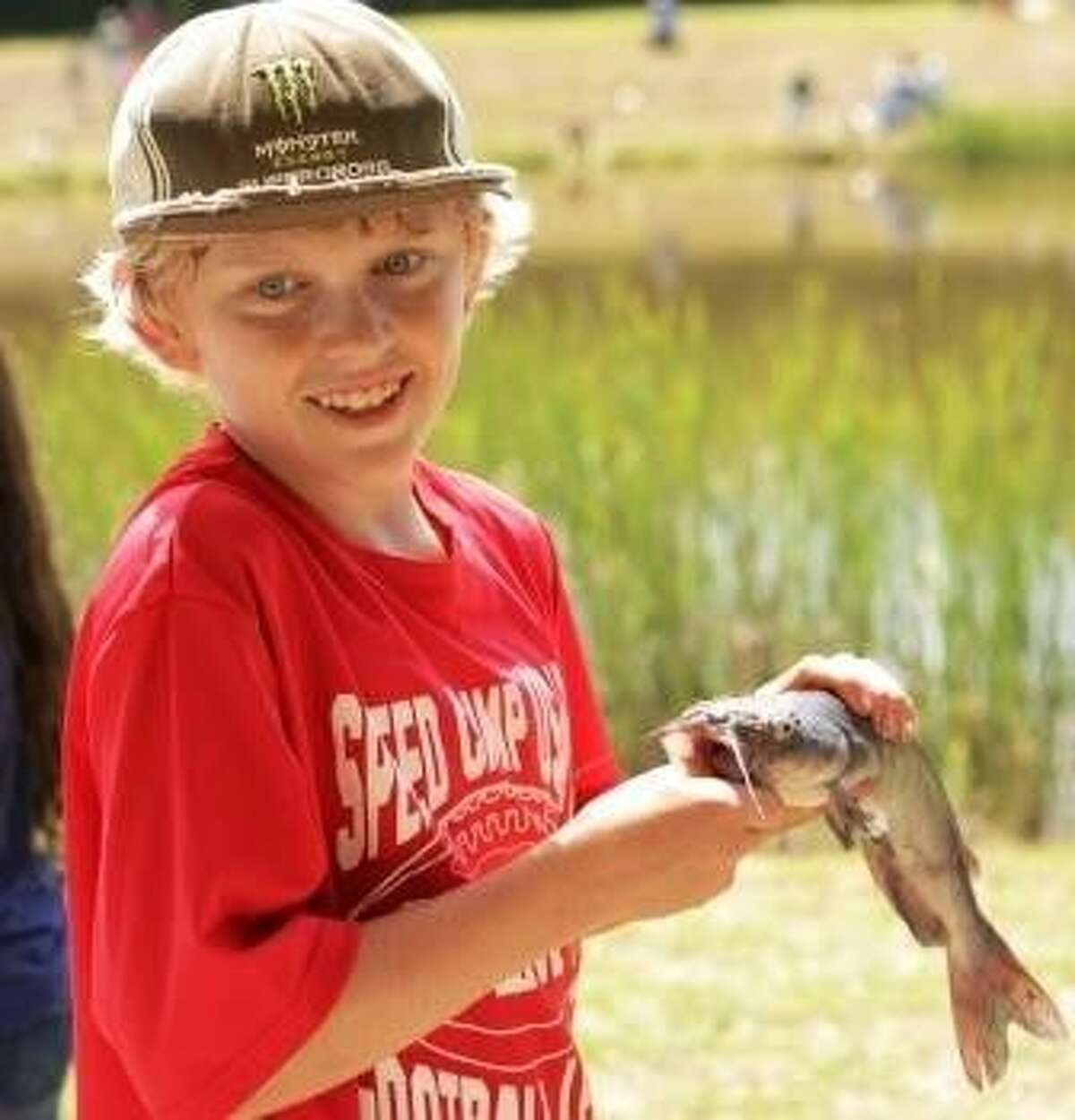 At the Friendswood Youth Fishing Derby, prizes will be awarded to the kids who catch the largest fish in their age group, smallest fish and most fish caught.