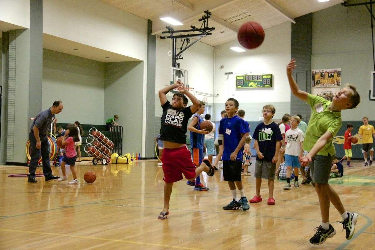 Children played in the gym afterward while parents talked all things St. Vincent de Paul.