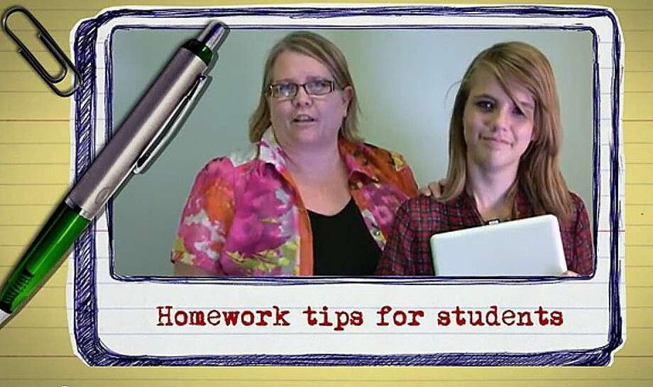 Lisa Felske, instructional specialist at HCDE, and daughter Emma offer tips for students this fall.