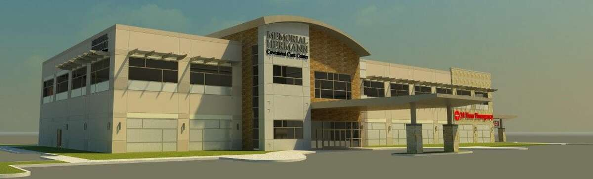 Conceptualized rendering of the Memorial Hermann Convenient Care Center in Kingwood.
