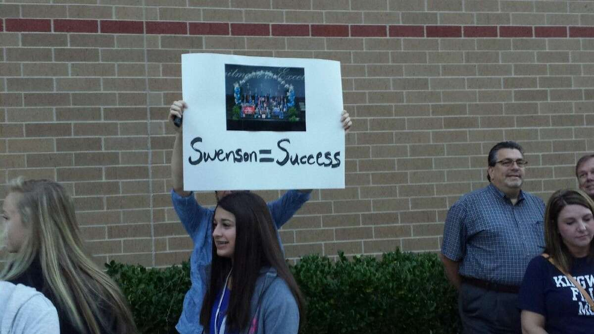 Kingwood High School Fillies Dance Team parents and dance team members were fired up after the school announced the reassignment of longtime director, April Swenson.