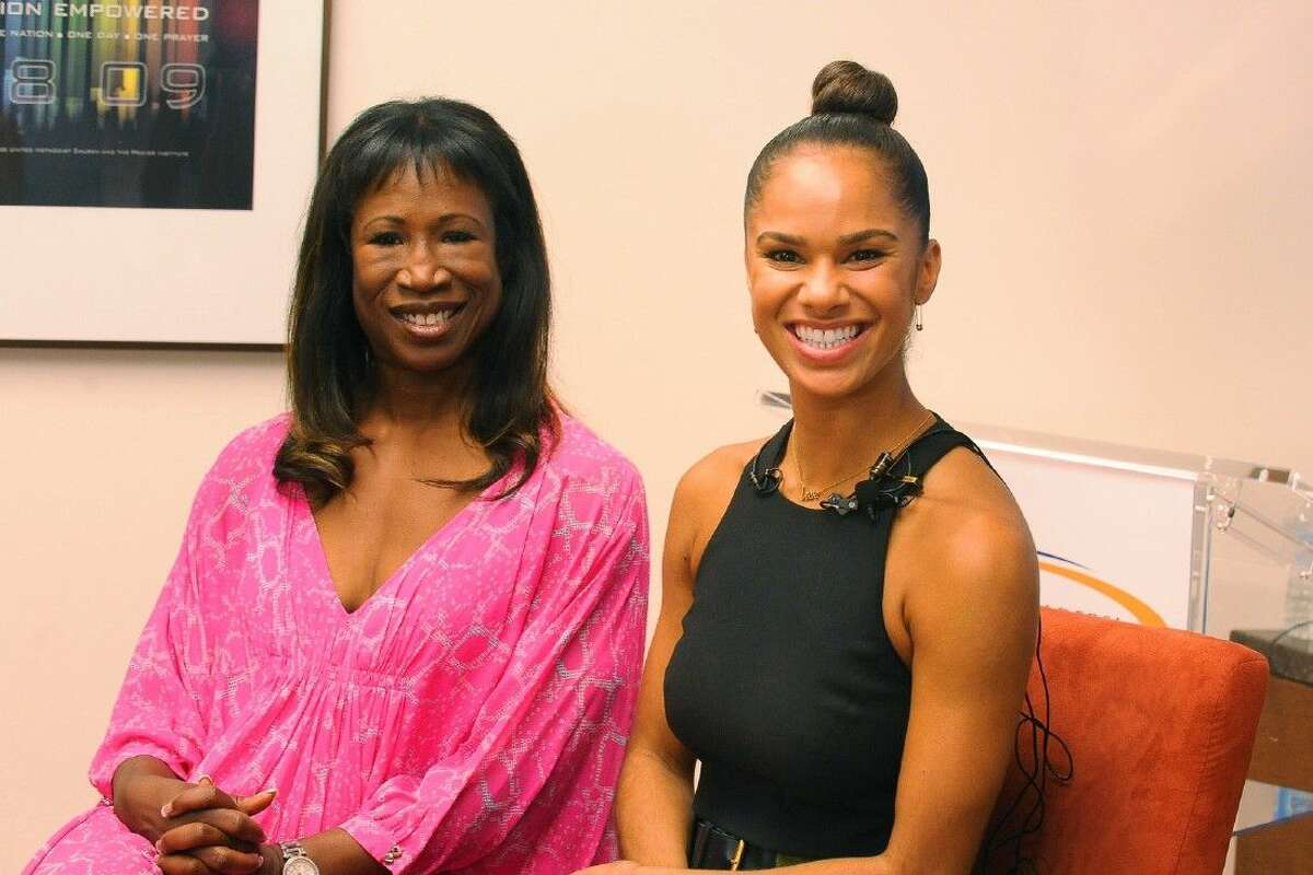 Staff photo by Tony GainesLauren Anderson of The Houston Ballet and Misty Copeland of the American Ballet Theater.