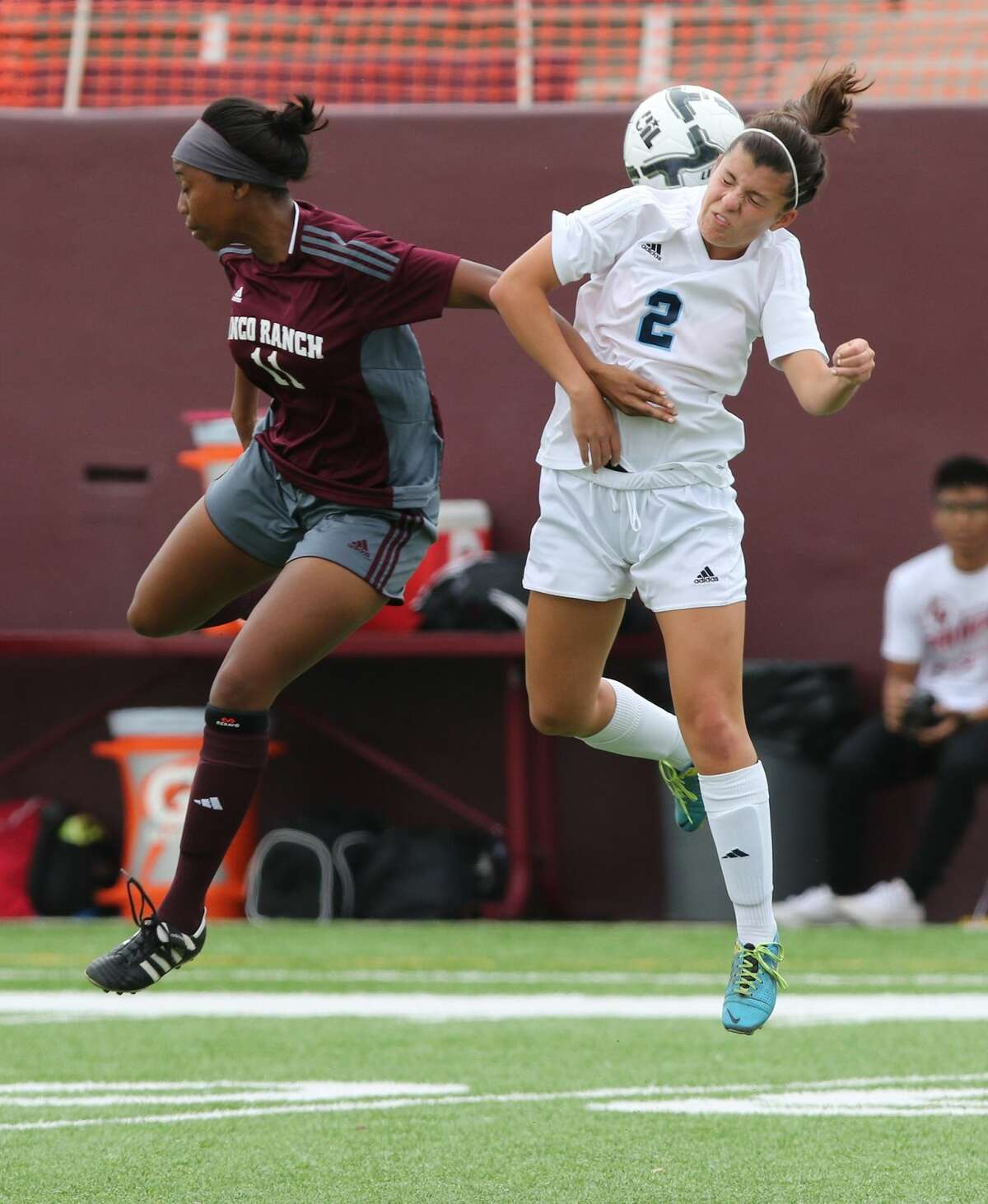 Catherine Boring (2) and Clements held La Porte scoreless through overtime and prevailed on penalty kicks as the Lady Rangers advanced to the Region III-6A quarterfinals.